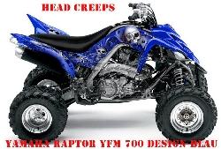 Sonderpreis: Head Creep für Yamaha Raptor YFM 700 ab 2013 in Weis Lagerware