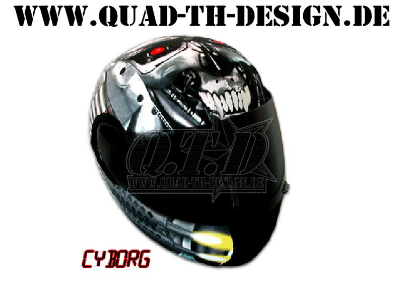 Helm bezug helm berzug cyborg 2012 lagerware ebay for Design artikel