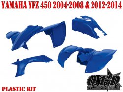 Komplette Verkleidung für Yamaha YFZ 450