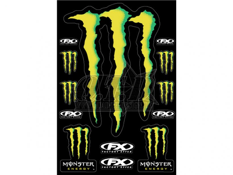fx factory effex sticker aufkleber monster energy xxl ebay. Black Bedroom Furniture Sets. Home Design Ideas