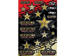 FX - Factory Effex Sticker Set Rockstar Energy Gold