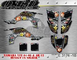 Rockstar Etnies E3176 für Yamaha YFZ 450 04-08