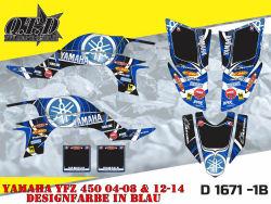 Yamaha Logo D1671 für YFZ 450 03-08 & ab 2012
