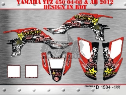 Metal Mulisha D1594 für Yamaha YFZ 450 04-08 & ab 2012