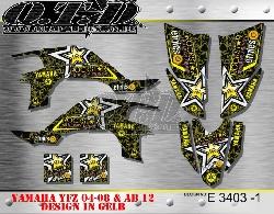 Rockstar Yamaha E3403 für Yamaha YFZ 450 04-08