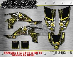 Rockstar Yamaha E3403B für Yamaha YFZ 450 04-08