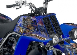 Zombie Outlaw Splatter für Yamaha Quads