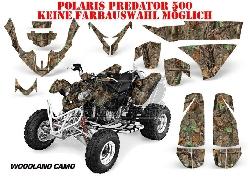 Real Camo Designs für Polaris Quads