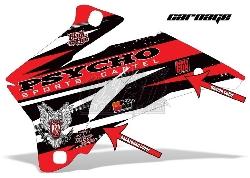 Psycho Sports Cartel Dekorsätze für Honda Street Bikes
