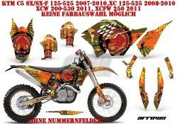 Arrows für KTM MX Motocross Bikes