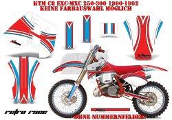 Retro Race für KTM MX Motocross Bikes
