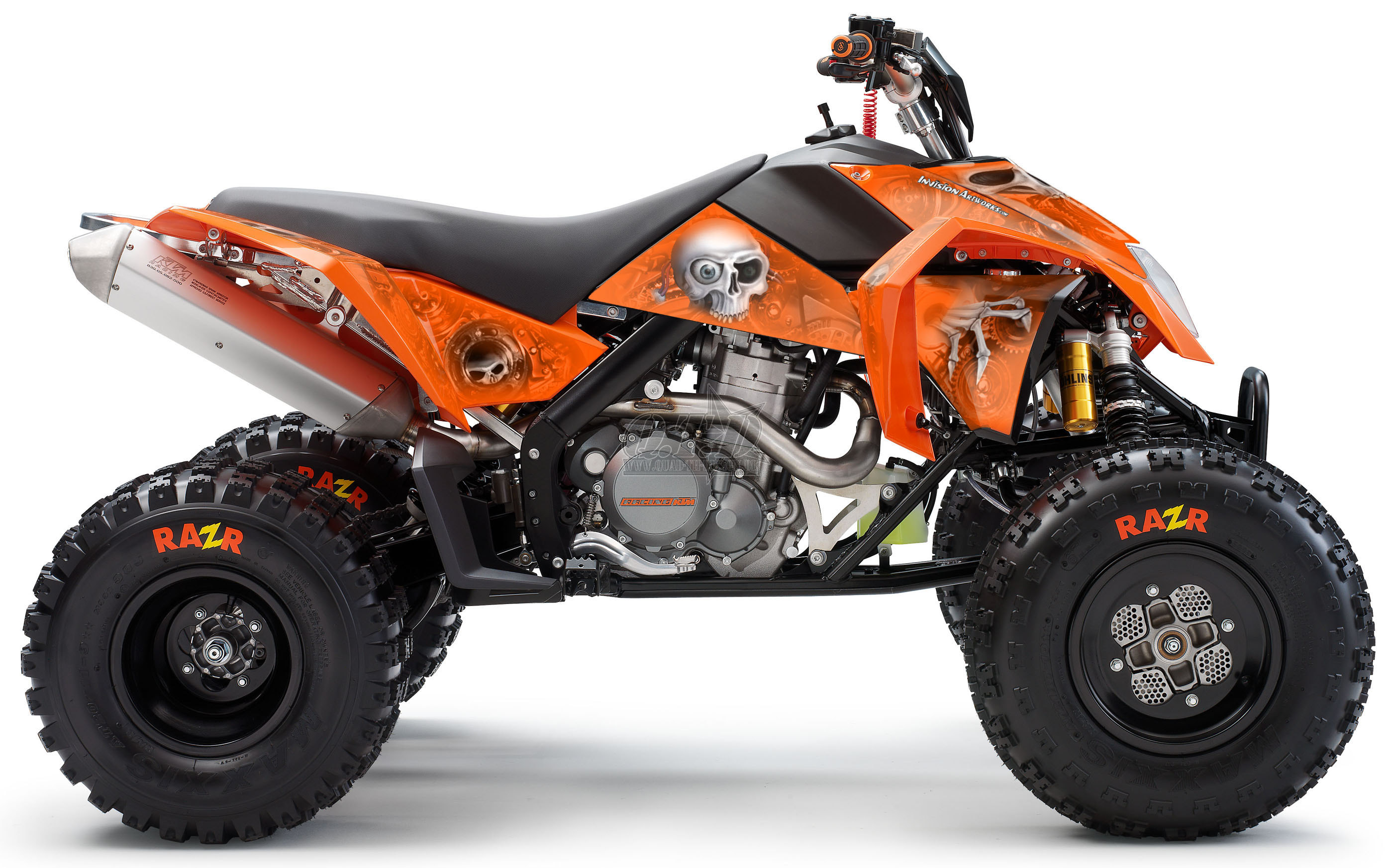 Head Creeps F 252 R Ktm Quads