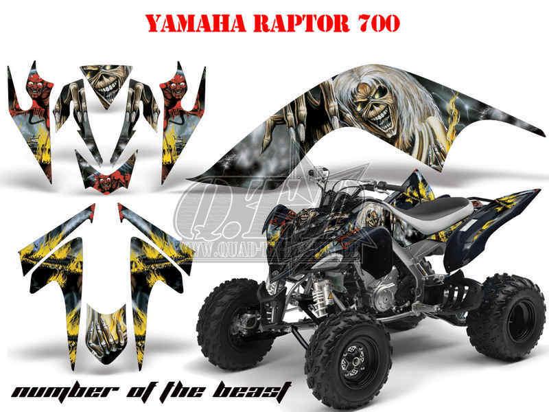 DS 250 DS 650 Meltdown B DS 450 Amr racing decoración kit ATV can-am Renegade