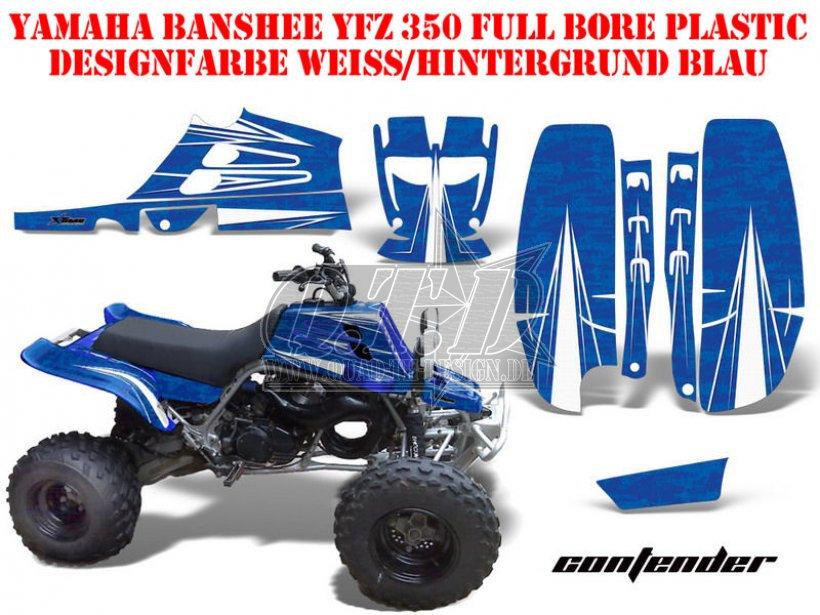 Yamaha Banshee Plastic Colors